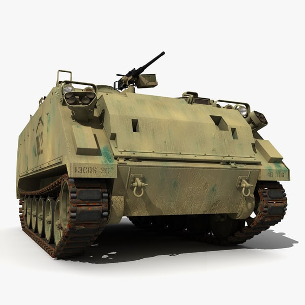 3d m2 m113 m113a3 version model - M113A3 Desert Version... by ne3w2