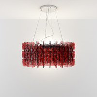 3d model chandelier murano hanging light