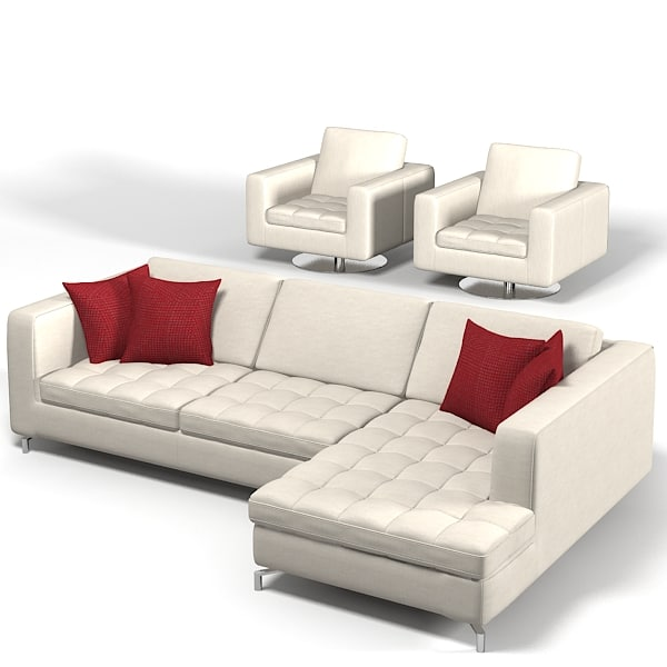 Natuzzi Savoy sectional corner tufted sofa chair armchair swivel club modern contemporary.jpg