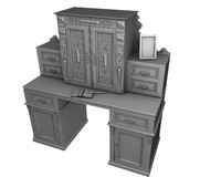 Antique Secretaire No textures