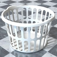 laundry hamper 3d model