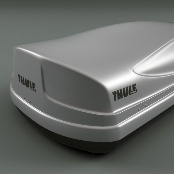 3d model of roof box thule - Roof Box Thule... by 3d_molier