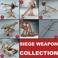 3d siege weapons model