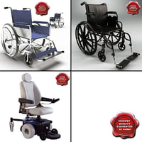 3d model wheelchairs v2