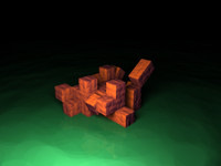 3ds max cubes animation