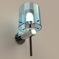 arezzo wall lamp 3d model