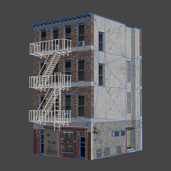 3d max architectural shop - City_Building_04... by Pixel_Bug