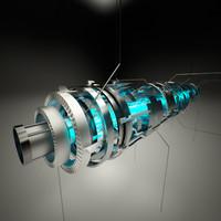 3d core design model