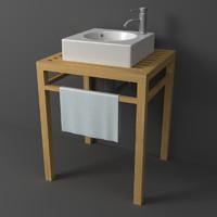 3d model duravit architec stand