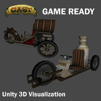 3ds max vehicle unity