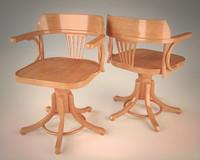 armchair swivel 3d max