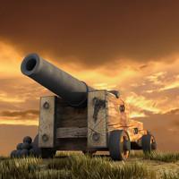 3dsmax cannon