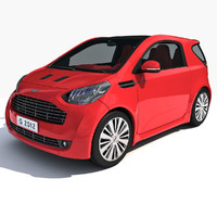 3d 2012 aston martin cygnet model