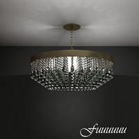 chandelier 1 3d max