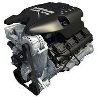 2013 Dodge Ram V8 Engine