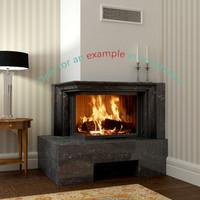 3dsmax fireplace 33