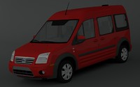 3d fbx transit connect xlt