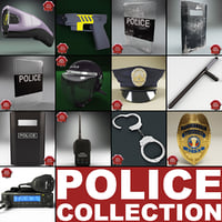 Police Equipment Collection V3
