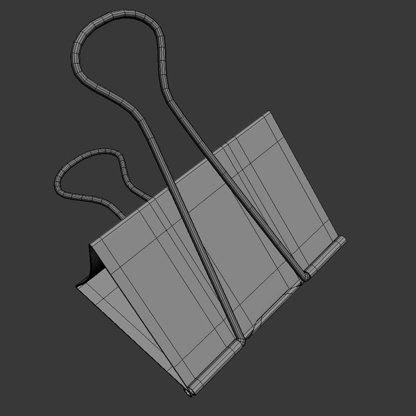 3d binder - Binder Clip... by visualdestination