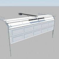 3ds max rigged garage doors