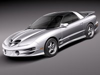 3d pontiac firebird transam 1999 model