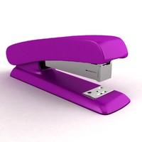 3d model stapler staple