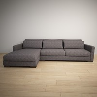 corner couch 3ds