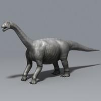 camarasaurus dinosaur 3d model