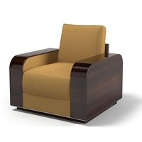 Giorgio Collection art deco club armchair chair modern contemporary