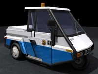 G0-4 Interceptor Meter Maid vehicle