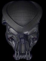 3d celtic predator bio helmet