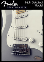 Fender Stratocaster USA (Highly Detailed)