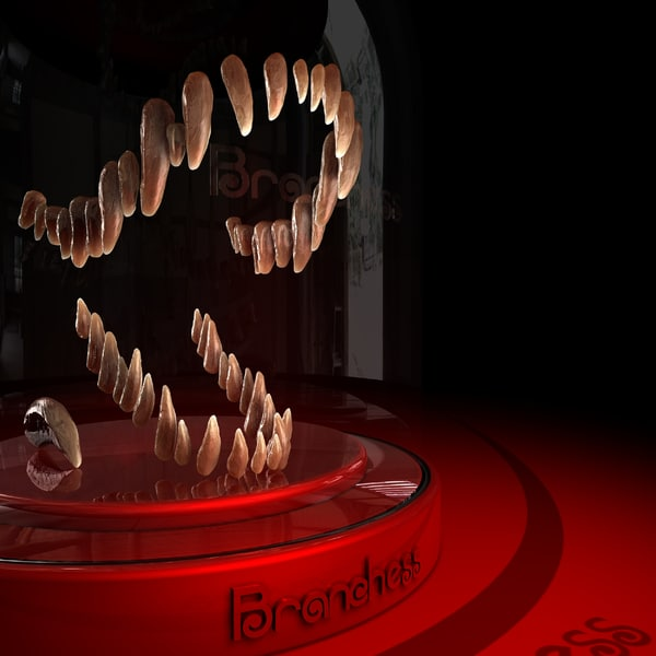 3d teeth dinosaur claw model - Teeth and claw dinosaur... by Branchess
