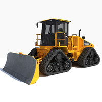 john deere speed dozer 3d model