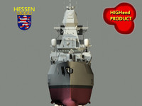 hessen germany 3d max