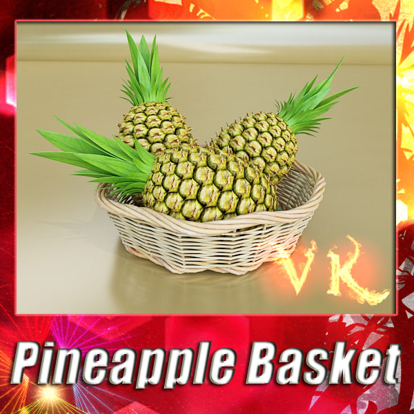 Pineapple + fruit basket 10 preview 0.jpg