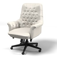 Poltrona Frau Oxford swivel chair armchair task office executive directors tufted buttoned boss leather