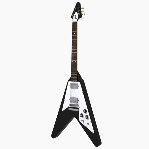 max gibson flying v - Guitar: Gibson Flying V: Black Finish... by phantomliving