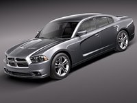 dodge charger 2012 sedan 3d 3ds