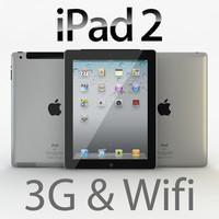 3d model realistic ipad 2 3g