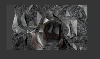 3d model small cave