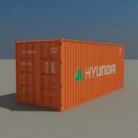 Cargo container Hyundai