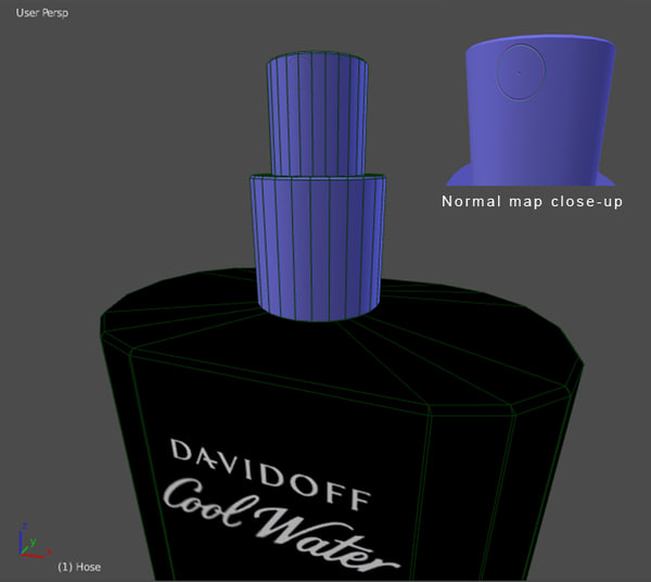 davidoff perfume 3ds - Davidoff Coolwater Perfume... by robstranges