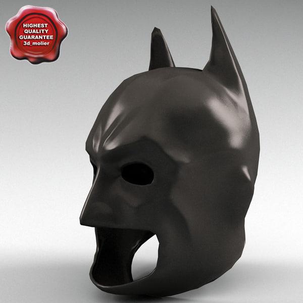 3d model of batman mask - Batman Mask... by 3d_molier