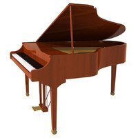 Grand Piano: Wood Finish