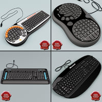 keyboards v5 3d 3ds