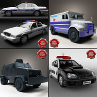 Police Cars Collection