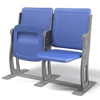 3d stadium seat model