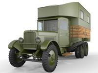 3d zis-6 parm-1b truck