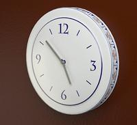 free ceramic clock 3d model